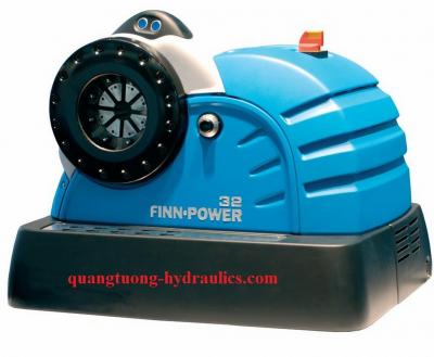 finn power hose crimping machine