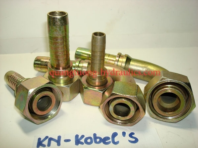 KOBELCO FITTINGS METRIC MALE - FEMALE FRENCH TYPE